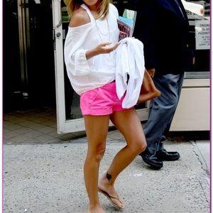 "* LIKE NEW * ✨ j.crew chino 4"" shorts - hot pink"